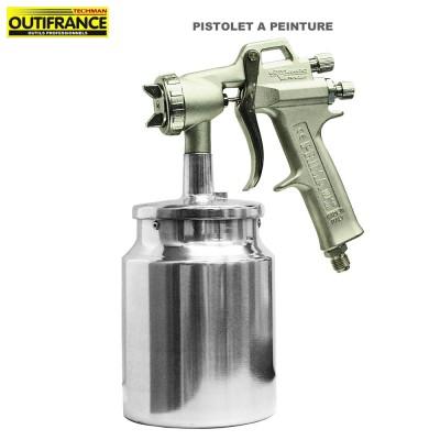 Pistolet à peinture pour compresseur - 2 à 3.5 bar