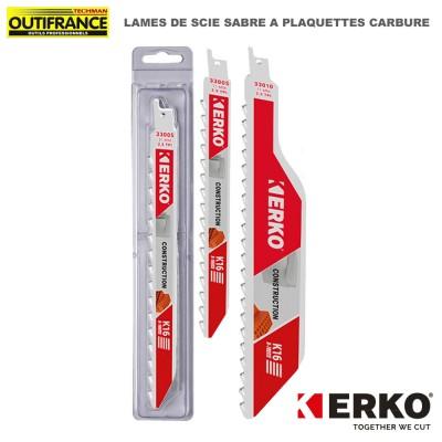 Lame de scie sabre à plaquettes carbure - 235 et 300 mm