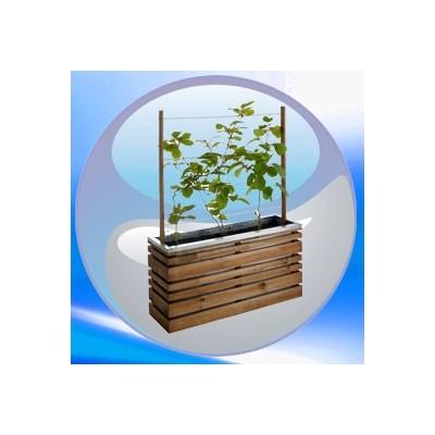 bac fleurs bois rectangulaire carr rond avec. Black Bedroom Furniture Sets. Home Design Ideas
