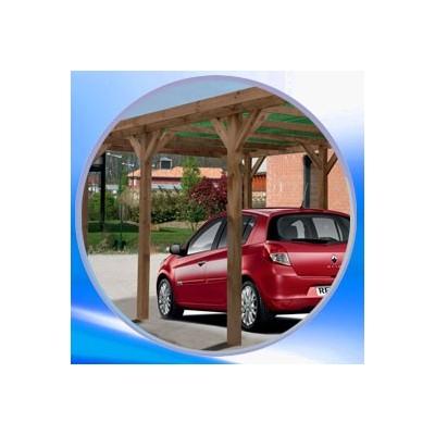 Carport bois simple et double