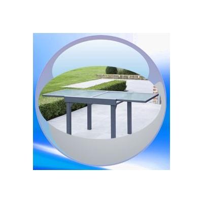 table de jardin rallonge clic discount. Black Bedroom Furniture Sets. Home Design Ideas