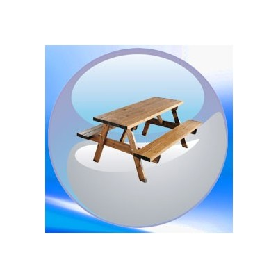 Table picnic en bois