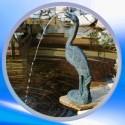 Gargouille bassin aquatique
