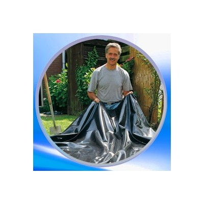 B che pour cr ation de bassin de jardin clic discount for Bache pour bassin largeur 3m