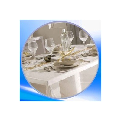 Nappe de table translucide