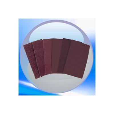 Feuille de papier abrasif manuel