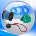 Câble élastique, attache rapide