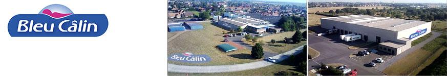 Bleu calin marque en vente chez Clic-discount