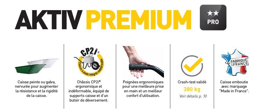 Brouette aktiv premium haemmerlin