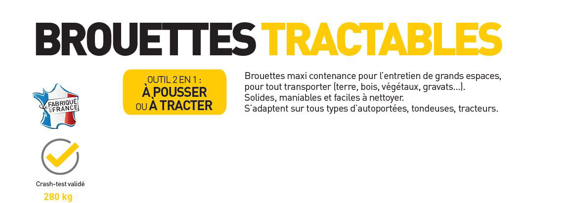 brouette tractable pro select haemmerlin