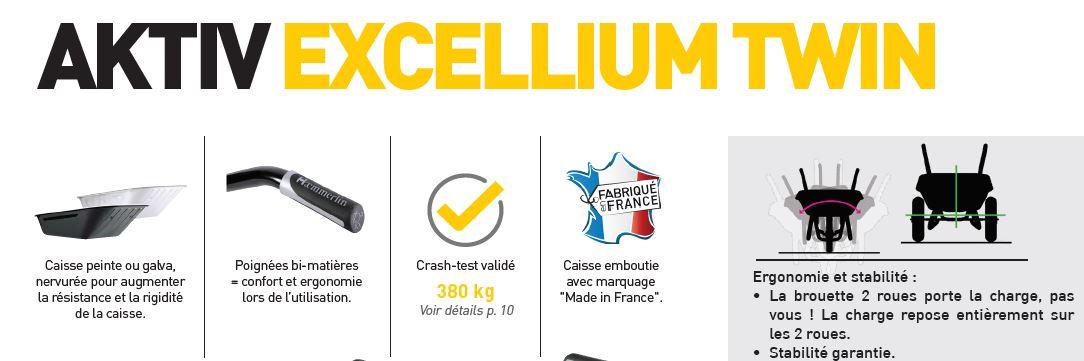 brouette aktiv excellium twin haemmerlin