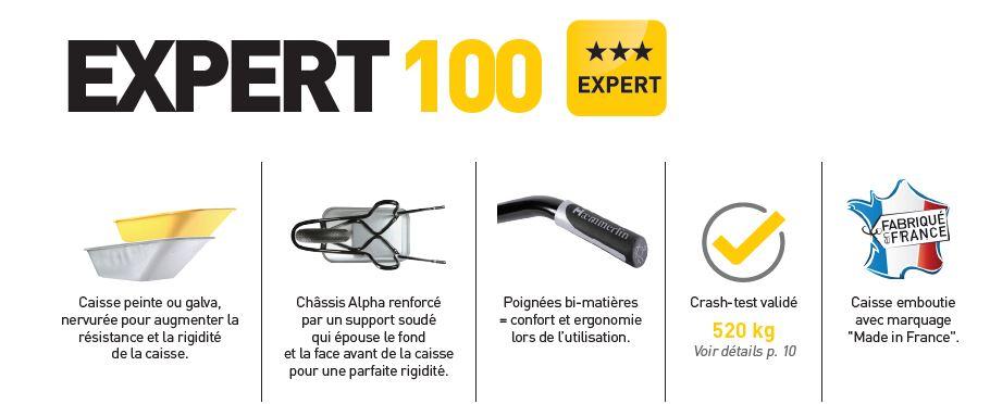 brouette expert 100 hammerlin