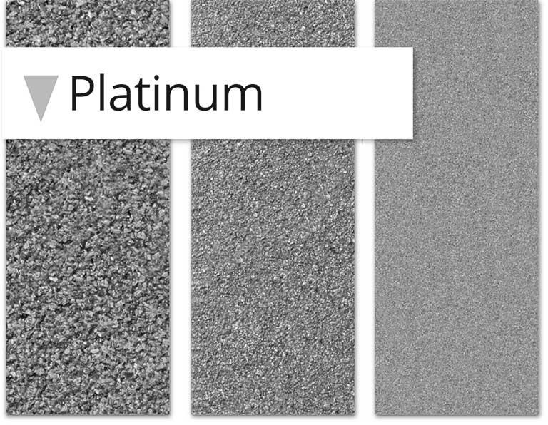 Papier abrasif, la gamme Platinium