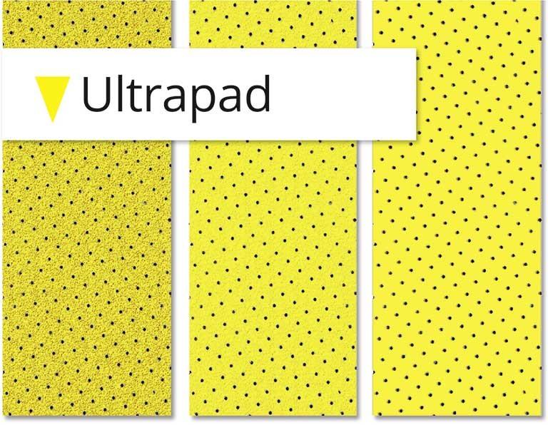 Papier abrasif, la gamme Ultrapad de chez Menzer