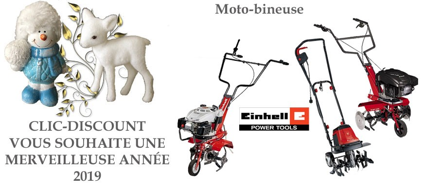 Motobineuse : Einhell : Une marque made in Germany