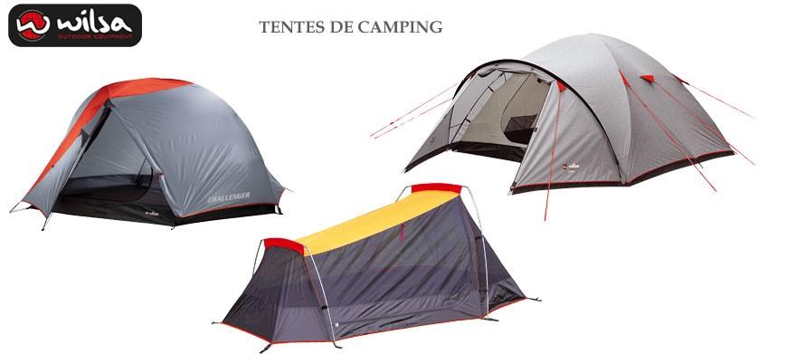 Clic-discount vous propose une gamme de tente de camping de fabrication Française signé Wilsa Outdoor.