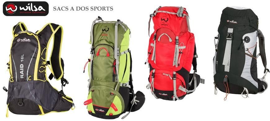 Les sacs à dos multi-sport ont été étudiés pour vos sorties Multi-sports, Raid, VTT, Canoë & Randonnées