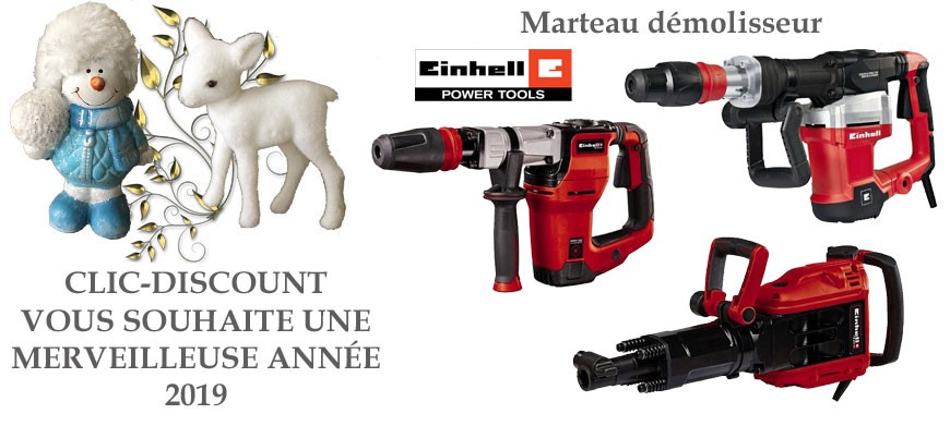 Marteau démolisseur : Einhell : Une marque made in Germany