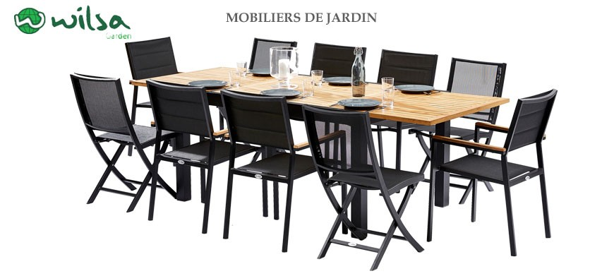 Un ensemble de mobilier de jardin pour tous les gouts, chez Clic-discount optez pour un salon de jardin aux meilleurs prix...