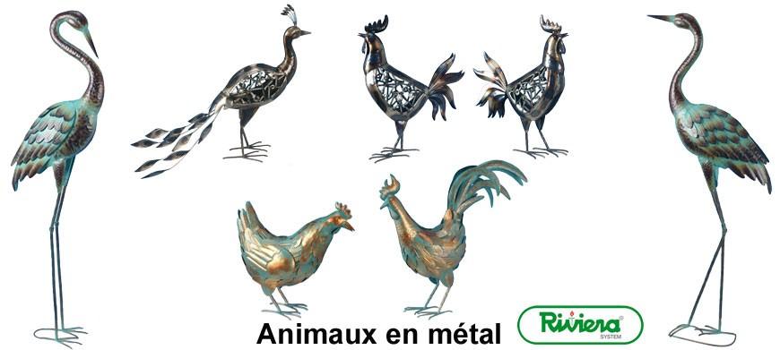 Large gamme de décoration métal Riviera