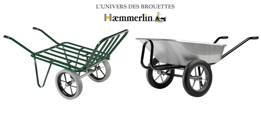 Découvrez toute la gamme des brouettes haemmerlin Alsace